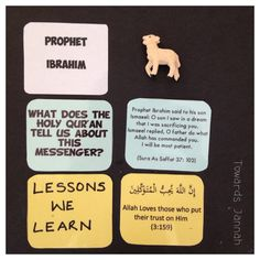 Our Awesome Prophets – Towards Jannah Religious Education, Kids Education, Islam For Kids, Islamic Studies, History Activities, Allah Love, Ramadan Decorations, Craft Stick Crafts, Kid Crafts