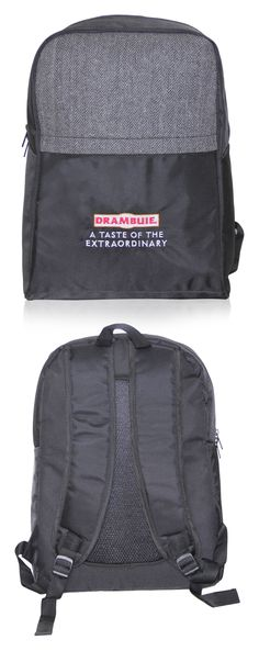 Laptop Backpack exclusively manufactured for Drambuie by Crea - India's smartest brand merchandising company.