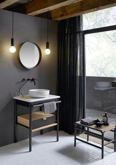 Burgbad Mya Keramik-Aufsatzwaschtisch inkl. Waschtischunterschrank SFKH065, 650mm - #badezimmerrenovierungen