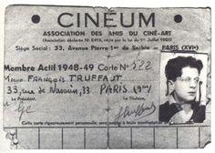 """I'd skip school regularly to see movies"" - François Truffaut See Movie, Film Movie, Movies, Gena Rowlands, Francois Truffaut, Michelangelo Antonioni, Faye Dunaway, Cinema Film, Claudia Cardinale"