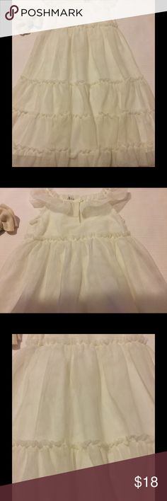 🕊Baby gap long dress size 2 t EUC🕊 🕊baby gap long dress size 2t EUC white shell:100%polyester lining:100%cotton 🕊 baby gap Dresses Casual