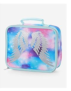 J World New York Corey Insulated Lunch Bag Lunch Box Back to School Poppy Pansy
