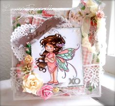Louises scrapperie: Letter B for DOC - a very determine wee summer fairy
