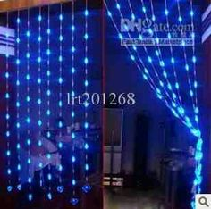 Glow beads Hanging Door Beads, Hanging Hearts, Beaded Curtains, Hanging Curtains, Led Lantern, Lanterns, Heart Shapes, Glow, Room Decor