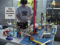 Cool Rube Goldberg Machines