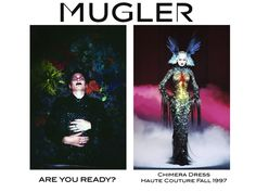 Are you ready for Mugler's male Chimera?