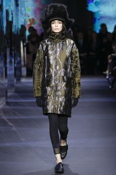 Moncler Gamme Rouge Fall 2014 RTW - Runway Photos - Fashion Week - Runway, Fashion Shows and Collections - Vogue