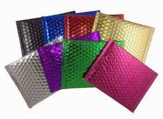 Shine In Shipping Fraternity with Colored Bubble Mailers