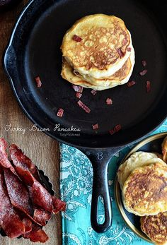 Turkey Bacon Pancake