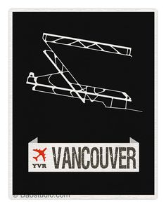 Fly me to Vancouver YVR World Traveler Series Canada by PineShore