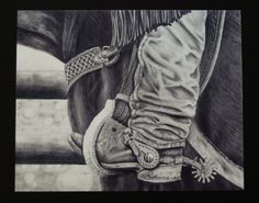 "Items similar to Country Western Art print. Black and white pencil drawing ""Branding Day"". on Etsy Cowboy Boots Drawing, Cowboy Draw, Pencil Drawings, Art Drawings, Realistic Drawings, Western Art, Western Decor, Western Boots, Country Art"