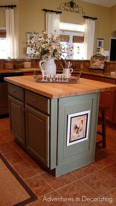 love  the counter top and island