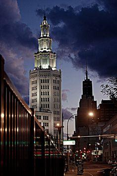 General Electric Tower, Buffalo, NY - James A. Johnson photo by Mark Bernas