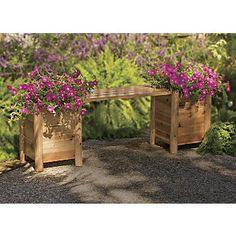 Garden Planter Bench...from Country Door