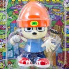 Parappa The Rapper WInd-Up Mini Figure Medicom Toy JAPAN ANIME GAME