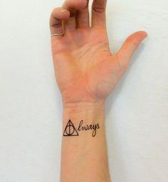 2 Harry Potter toujours là Boutique Tattoos par SmashTat sur Etsy