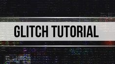 Glitch INTRO TUTORIAL │ 100% After Effects (ADVANCED Tutorial)