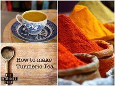 A simple and easy to make turmeric tea recipe