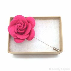 Pink rose flower men's lapel flowers men's fashion accessories spring summer 2014 boutinerres