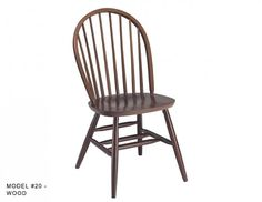 Genial This Traditional Colonial Windsor Wood Chair Has Nine Tapered Spindles, An  Attractive Wood Steam Bent