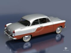 A Garagem Digital de Dan Palatnik | The Digital Garage Project: 1955 Willys Aero Bermuda