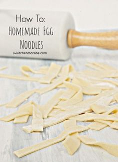 egg noodle tutorial lightened