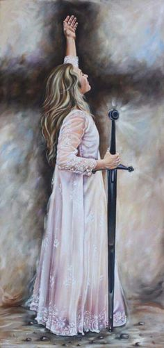 I am God's Warrior Princess who will only follow Jesus Christ the One True God, I will not follow the voice of a stranger.