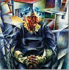 Umberto Boccioni_Construcción Horizontal (1912)
