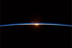 Col. Hadfields final photo from the International Space Station