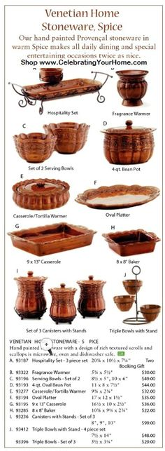 My fav! have the bean pot, casserole and canisters...need the rest! the color is amazing!