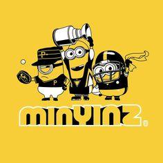 🖤💛 - Minions In Pittsburgh! Pittsburgh Sports, Pittsburgh Penguins Hockey, Pittsburgh Pirates, Pens Hockey, Ice Hockey, Hockey Memes, Sports Memes, Lets Go Pens, Pirates Baseball