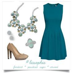 Fondant necklace Powdered Sugar earrings Atwood ring www.liasophia.com/mariasutton #liasophia #jewelry #statementnecklace