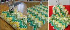 Bunny Blanket, Cute Bunny, Beautiful Crochet, Afghans, Crochet Baby, Sheep, Ravelry, Designers, Kids Rugs