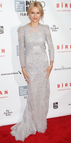Look of the Day - October 13, 2014 - Naomi Watts in Gucci Premiere from #InStyle