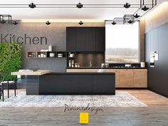 Black Modular Kitchens - The modern feature of eclectic homes | Ideas | PaperToStone