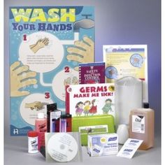 Hand washing is one of the fundamental practices children often overlook. This kit includes all the educational components the School Nurse needs to educate children on the basics of regular hand washing. #handwashing