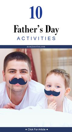 10 Wonderful Father's Day Activities