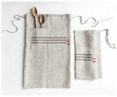 Celina Mancurti's Kitchen Apron is designed to fit women and men comfortably. It is crafted with durable and luxurious linen and hand printed by Celina at her workshop in Florida.