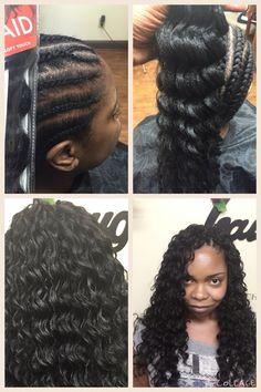 Crochet Hair By Kima : Protective Styling on Pinterest Crochet Braids, Protective Styles ...