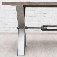 Old School обеденный стол в индустриальном стиле - Мебель в стиле Лофт - Мебель по стилям Loft Art