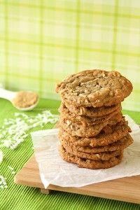 Brown Sugar Cinnamon Coconut Cookies from www.chocolatemoosey.com
