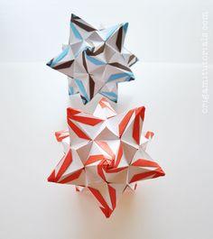Megapolis Kusudama Tutorial | Origami Tutorials