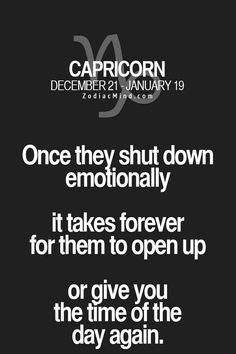 Zodiac Mind - Your source for Zodiac Facts Capricorn And Cancer, Astrology Capricorn, Capricorn Love, Capricorn Quotes, Capricorn Facts, Zodiac Quotes, Zodiac Signs Chart, Zodiac Star Signs, Zodiac Sign Facts