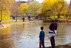 Boston Public Garden, Boston, MA
