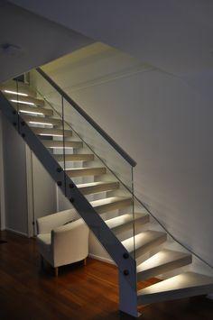 Kotia kohti 2015: Teräsportaat Stairs, Hallways, Home Decor, Staircases, Architecture, Stairway, Foyers, Decoration Home, Room Decor