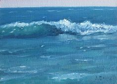 Surf Series 10 by Jennifer Boswell, Oil