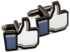 "Facebook ""like"" cufflinks"