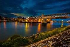 Old bridge Bratislava ChangeFace by Andy Partychvil on 500px