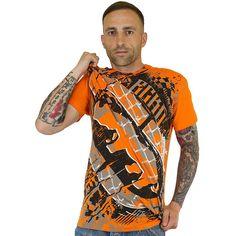 T-Shirt Ecko MMA Power orange ★★★★★