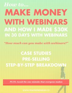 """""""How much can you make with webinars?""""  (I know you've been thinking about this. My new masterclass Webinar  Rockstar™ is now available, and the questions and tweets are coming in.)  When I tell people how webinars have benefited my business, they seem  incredulous.  I'm making more in a week than most people make in a month with regular  marketing methods.  But all these """"numbers"""" - what do they mean? I mean, do you have to already  have a huge list to make this work? (hint: nope!). How…"""